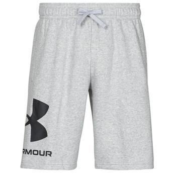 Oblačila Moški Kratke hlače & Bermuda Under Armour UA RIVAL FLC BIG LOGO SHORTS Siva
