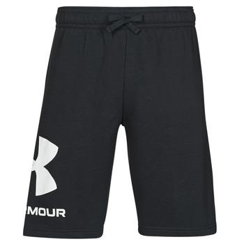 Oblačila Moški Kratke hlače & Bermuda Under Armour UA RIVAL FLC BIG LOGO SHORTS Črna