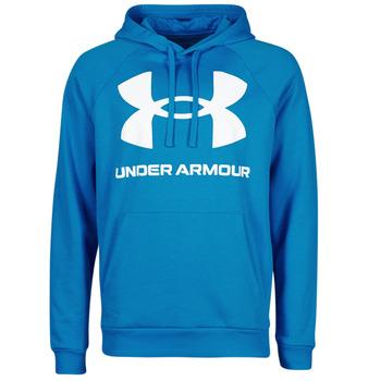 Oblačila Moški Puloverji Under Armour UA RIVAL FLEECE BIG LOGO HD Modra