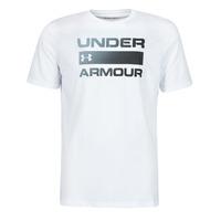 Oblačila Moški Majice s kratkimi rokavi Under Armour UA TEAM ISSUE WORDMARK SS Bela