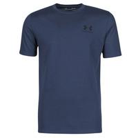 Oblačila Moški Majice s kratkimi rokavi Under Armour UA SPORTSTYLE LC SS Modra