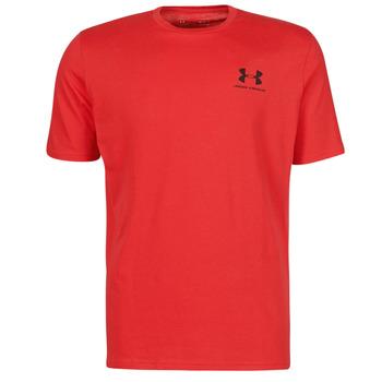 Oblačila Moški Majice s kratkimi rokavi Under Armour UA SPORTSTYLE LC SS Rdeča