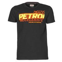 Oblačila Moški Majice s kratkimi rokavi Petrol Industries T-SHIRT SS R-NECK F Črna
