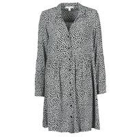 Oblačila Ženske Dolge obleke Esprit ROBE PRINT Črna
