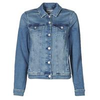 Oblačila Ženske Jeans jakne Esprit JOGGER JACKET Modra