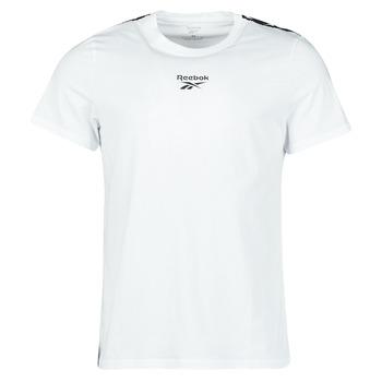 Oblačila Moški Majice s kratkimi rokavi Reebok Classic TE TAPE TEE Bela