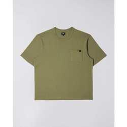 Oblačila Moški Majice s kratkimi rokavi Edwin T-shirt  Oversized vert kaki
