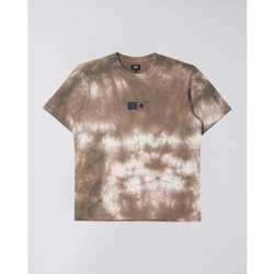 Oblačila Moški Majice s kratkimi rokavi Edwin T-shirt  Synergy marron/blanc