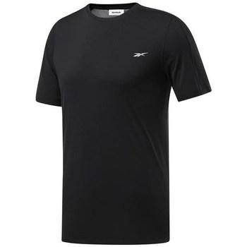 Oblačila Moški Majice s kratkimi rokavi Reebok Sport Wor Comm Tech Tee Črna