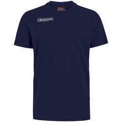Oblačila Dečki Majice & Polo majice Kappa T-shirt enfant  Tee bleu royal