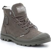 Čevlji  Ženske Polškornji Palladium Manufacture Pampa HI Zip WL 95982-213-M brown