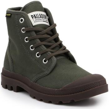 Čevlji  Polškornji Palladium Manufacture Pampa HI Originale 75349-326-M olive green