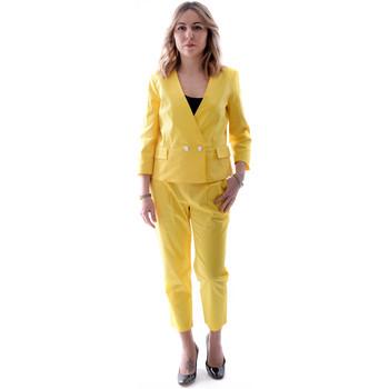 Oblačila Ženske Obleka Fracomina FR20SP090 Rumena