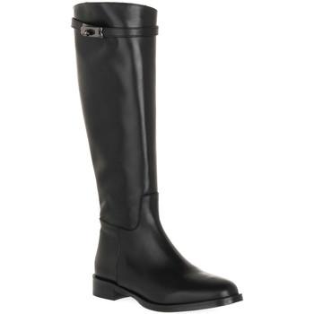 Čevlji  Ženske Mestni škornji    Priv Lab NERO NATURE Nero