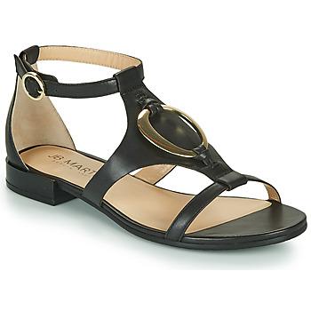 Čevlji  Deklice Sandali & Odprti čevlji JB Martin BOCCIA Črna