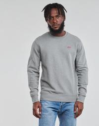 Oblačila Moški Puloverji Levi's NEW ORIGINAL CREW Siva