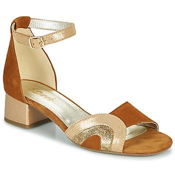 Čevlji  Ženske Sandali & Odprti čevlji Sweet CHINOS Kamel