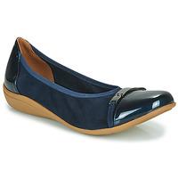Čevlji  Ženske Balerinke Sweet CLAMS Modra