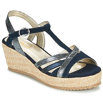 Čevlji  Ženske Sandali & Odprti čevlji Sweet ESNOU Modra