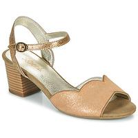 Čevlji  Ženske Sandali & Odprti čevlji Sweet GOLFE Pozlačena
