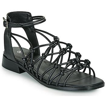 Čevlji  Ženske Sandali & Odprti čevlji The Divine Factory LS1793H Črna