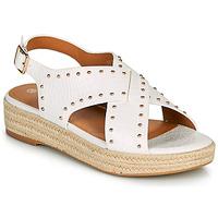 Čevlji  Ženske Sandali & Odprti čevlji The Divine Factory LS1802J Bela