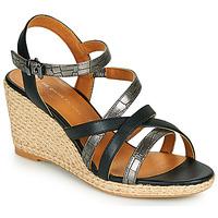 Čevlji  Ženske Sandali & Odprti čevlji The Divine Factory QL4354 Črna