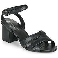 Čevlji  Ženske Sandali & Odprti čevlji The Divine Factory LS2115 Črna