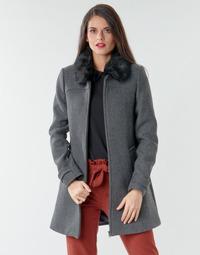 Oblačila Ženske Plašči Naf Naf AZAZOU M1 Siva
