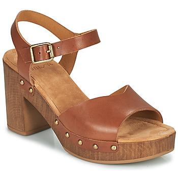 Čevlji  Ženske Sandali & Odprti čevlji Unisa TACO Kamel