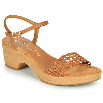 Čevlji  Ženske Sandali & Odprti čevlji Unisa ILOBI Kamel