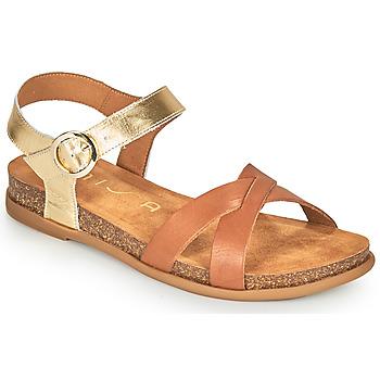 Čevlji  Ženske Sandali & Odprti čevlji Unisa CINCEL Kamel