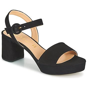 Čevlji  Ženske Sandali & Odprti čevlji Unisa NENES Črna