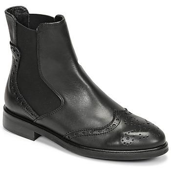 Čevlji  Ženske Polškornji Fericelli CRISTAL Črna