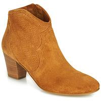 Čevlji  Ženske Gležnjarji Fericelli CROSTA Taupe