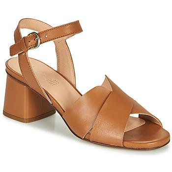 Čevlji  Ženske Sandali & Odprti čevlji Fericelli ONAPA Kamel