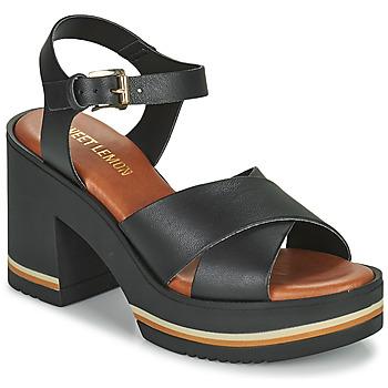 Čevlji  Ženske Sandali & Odprti čevlji Sweet Lemon LUPOLE Črna