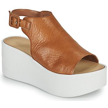 Čevlji  Ženske Sandali & Odprti čevlji Sweet Lemon PYTON Kostanjeva