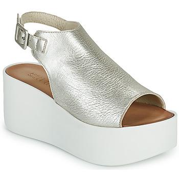 Čevlji  Ženske Sandali & Odprti čevlji Sweet Lemon PYTON Srebrna