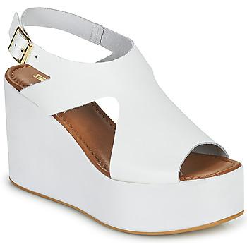 Čevlji  Ženske Sandali & Odprti čevlji Sweet Lemon IJOX Bela
