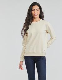 Oblačila Ženske Puloverji Lee SUSTAINABLE SWS ECRU MELE Bela