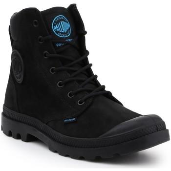 Čevlji  Moški Polškornji Palladium Manufacture Pampa Cuff WP LUX 73231-001-M black