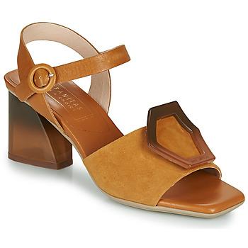 Čevlji  Ženske Sandali & Odprti čevlji Hispanitas SANDY Kostanjeva