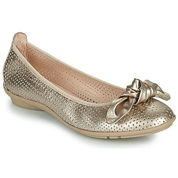 Čevlji  Ženske Balerinke Hispanitas CAPRI Pozlačena