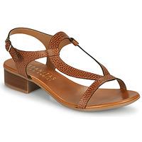Čevlji  Ženske Sandali & Odprti čevlji Hispanitas LOLA Kostanjeva