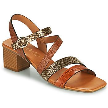 Čevlji  Ženske Sandali & Odprti čevlji Hispanitas OLGA Kostanjeva / Bronze