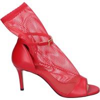 Čevlji  Ženske Sandali & Odprti čevlji Stephen Good Sandali Pelle Tessuto Rosso