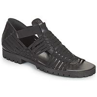 Čevlji  Ženske Sandali & Odprti čevlji Kenzo GREEK FLAT SANDALS Črna