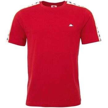 Oblačila Moški Majice s kratkimi rokavi Kappa Hanno Rdeča