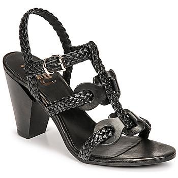 Čevlji  Ženske Sandali & Odprti čevlji Mimmu TRECCIA-P-NERO Črna